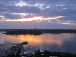 View across Bay Lake
