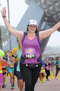 During Half Marathon